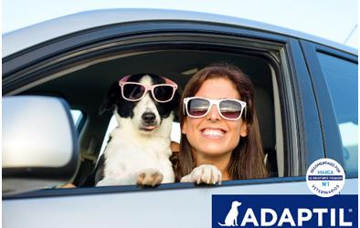 Estas vacaciones… ¡viajamos tranquilos y felices gracias a Adaptil®!