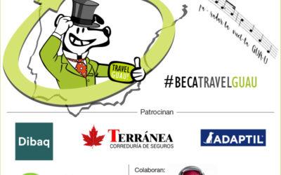 Beca TravelGuau, la mejor Beca del mundo si tienes mascota y te gusta viajar.
