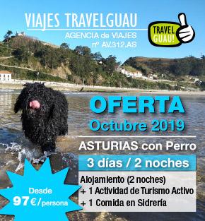 Viajar a Asturias con perro